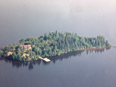 Photo for Large Cabin on Private Island LOTW