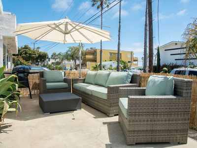 Photo for Enjoy the Sea Breeze just steps from the Beach, Pier, & Downtown Oceanside