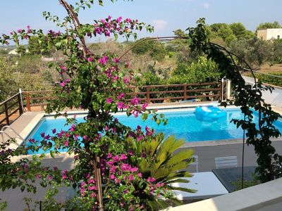 Photo for Country House 15 km from Gallipoli with private pool The Blue House