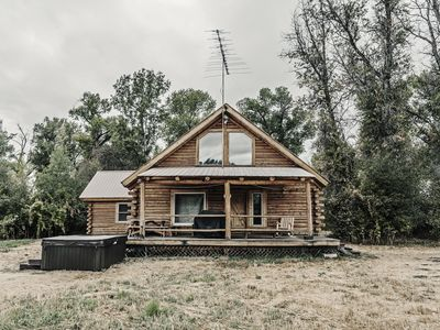 Photo for Secluded Cabin With Hot Tub And Sauna near Tetons