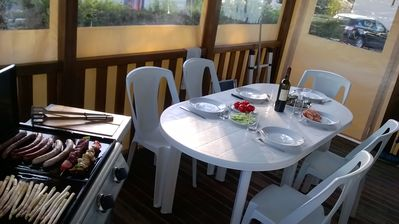 Photo for Available 25/8 MH 3ch, terrace, air conditioning, tv, lling, lvaiss + 6 bikes