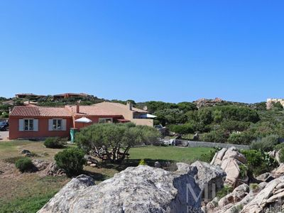 Photo for Villa Brulia - Terraced villa with garden and sea view - La Maddalena
