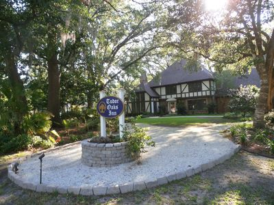 Photo for Tudor B&B w/ private pool, 9.9/10 rating, nr Plantations,  Charleston & beaches.