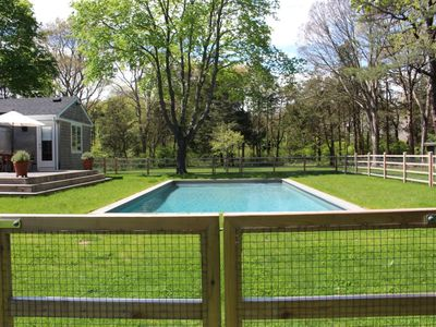Photo for Beautiful quiet 2 acres, pool, pets welcome