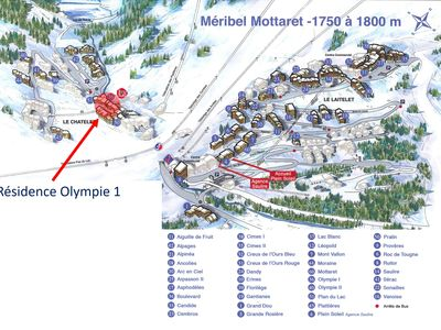 Photo for MERIBEL MOTTARET 3 PIECES FAMILY REMAINS NEW - SKIS AND TRADE ON FEET