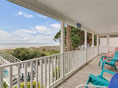 Photo for Aloha | Gorgeous Oceanfront Views | Perfect for Events | Updated Kitchen | Private Walkway to Beach