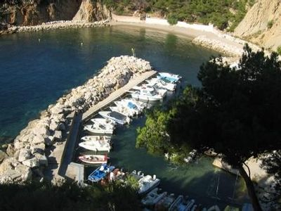 Photo for Charming house in the calanques near the sea near marseille