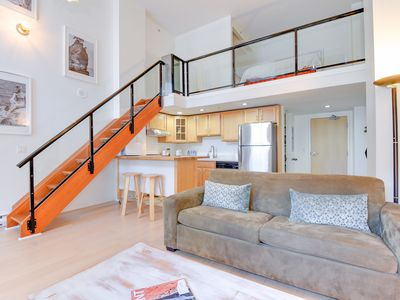 Photo for NEW / PROMO PRICE / 1 BR LOFT / YALETOWN