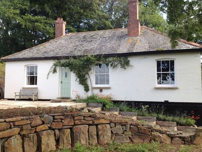 Photo for HEDGELEA, pet friendly, with open fire in North Tawton, Ref 976108