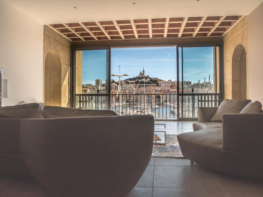 Spacious luxury apartment with stunning views of the Old Port -180m2 - 3bedrooms