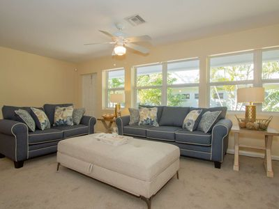 Photo for Cozy beach contemporary villa in exclusive community of The Moorings/West of 41- walk&bike to beach!