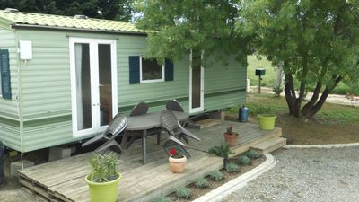 Photo for lovely comfortable mobile home, ideally located and family friendly holiday ho