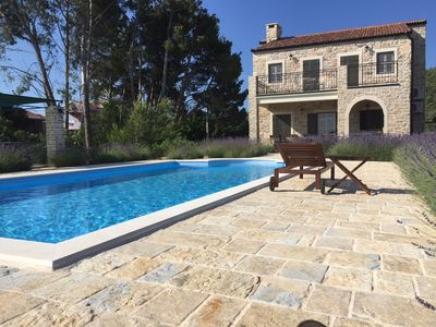 Photo for Authentic Croatian Luxury Villa with Pool located on the Island of Pasman,Zadar