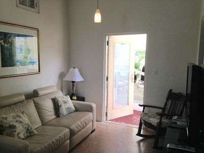 Photo for Charming One Bedroom, One Block From Beach.  We Are In A Gated Community.