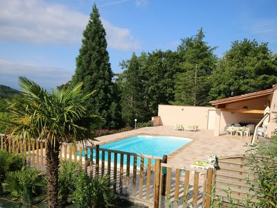 Photo for Villa Heated Pool 4 bedrooms In calm and pretty Hamlet, garden, Mountain Views,