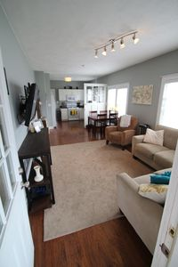 Open concept living / kitchen / dining