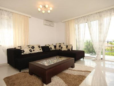Photo for One bedroom apartment with balcony and sea view Ičići, Opatija (A-7785-b)