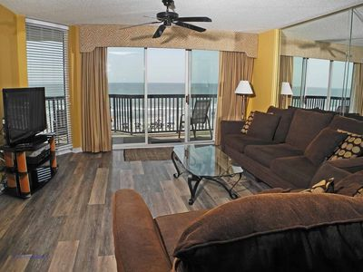 Photo for Ashworth Unit 405! Stunning Ocean Front Condo! Book your get away today!