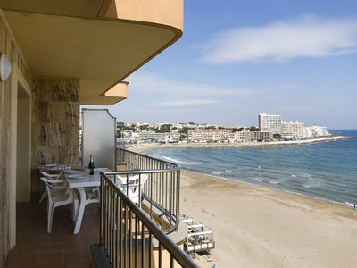Photo for Apartment with sea views, near the beach! Big apartment (60 m2), located in front of Riel