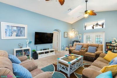 You'll love this 5 star Orlando Vacation Home! Just over 4 miles to Disney.