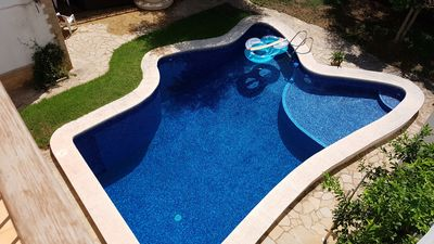 Photo for Villa with pool near the sea and the mountains. Up to 10 ten pax with amplitude.