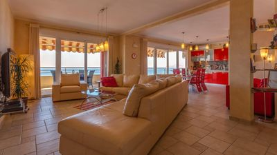 Photo for ✓ Luxury apartment with panoramic sea views, kostl. WLAN, SAT-TV, parking