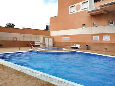 Photo for Bright, comfortable with pool and solarium
