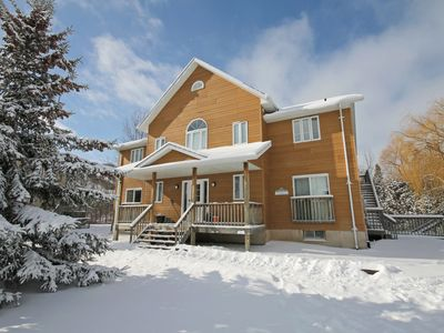 Photo for Summit Ridge 4- Executive Chalet, Floor to Ceiling Windows + Hot Tub- Snow is here!