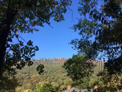 Lookout Mountain as seen from patio