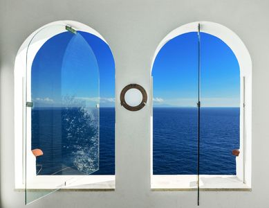 Photo for Apartment-Amalficoast-sea view-parking-air conditioning-wifi-italy