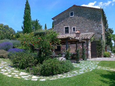 Photo for A delightful Tuscan character Villa - Sarteano Tuscany