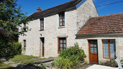 Photo for Restored 3 Bedroom Stone House with Private Garden