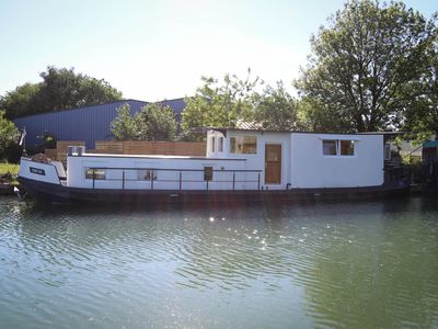 Photo for Houseboat Barge Mon'ro near Strasbourg
