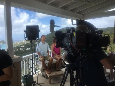 """HGTV filmed scenes for their """"Caribbean Life"""" show at Palm Vista in 2016!"""