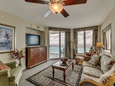 Photo for 8th Floor Bahama Sands. Oceanfront, Hot Tubs, Pools
