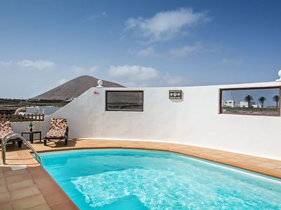 Photo for Tranquil Villa Close to Natural Sights with Pool, Terrace, Garden and Wi-Fi; Parking Available