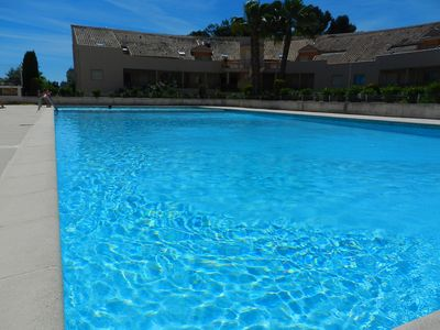 Photo for Studio sleeping corner Furnished with swimming pool 10 minutes walk from the beach