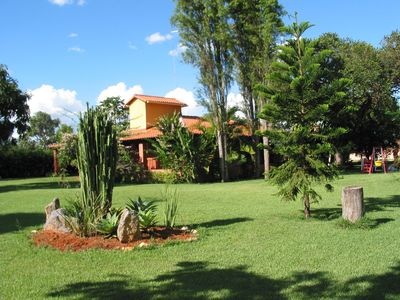 Photo for Pleasant farm near Brasilia, with pool and leisure areas.