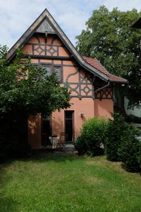 Photo for Stylish holiday house with terrace - cozy facilities in the center v. Weimar