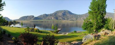 Photo for Private Lakefront Home Osoyoos