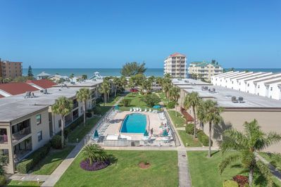 Sea Club Property with Gulf of Mexico across the street.
