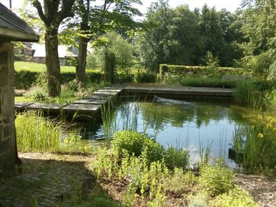 Photo for House in the middle of the Nature of the Ardennes of Belgium with swimming pond.