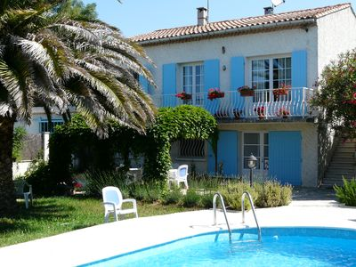 Photo for Charming House with private pool in the Alpilles Park, Fontvieille