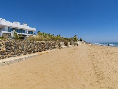 Photo for OUTSTANDING BEACHFRONT VILLA,,,DESIGNED TO THE HIGHEST STANDARDS , 6 BEDROOMS