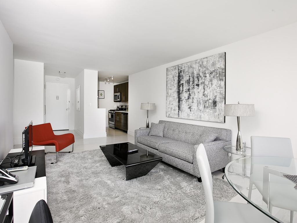 Furnished Rental Studio Apartment In Building New York City