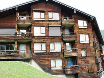 Photo for Apartment for 6 people, 800 m from the center of Morzine, with tennis court (open in summer)