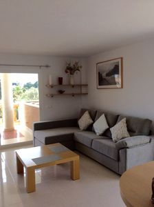 Photo for Luxury Apartment, Super Location, Sunny Terrace & Views, Pool, Wifi, Sat TV etc