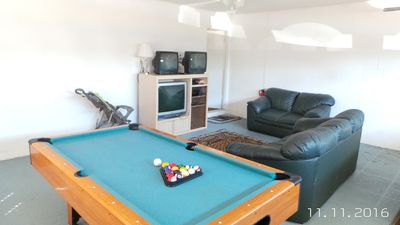 Photo for KING MASTER POOL SPA LCD TVS GAME ROOM FREE WIFI CLOSE TO DISNEY AND MORE