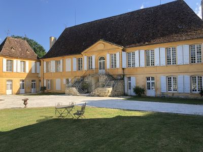 Photo for Charming Authentic 18th Century Chateau set in beautiful private park