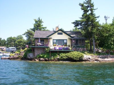 Photo for Private Island in the beautiful Thousand Islands, St Lawrence River